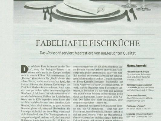 Magazinseite: Fabelhafte Fischküche