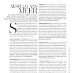 Magazinseite: Ausflug ans Meer