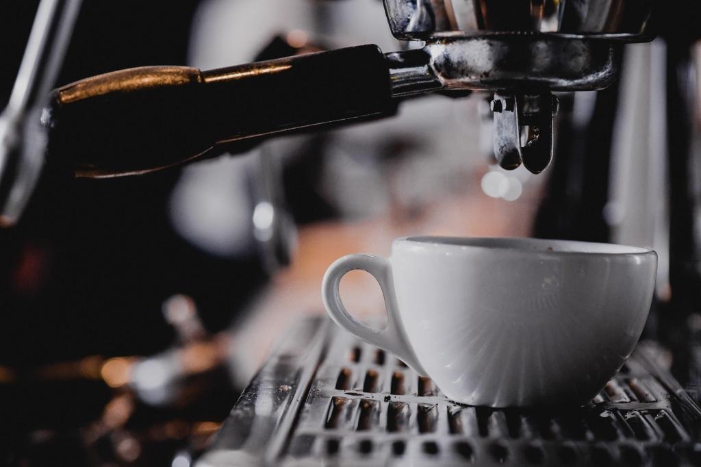 Die Kaffeezubereitung des Hauses