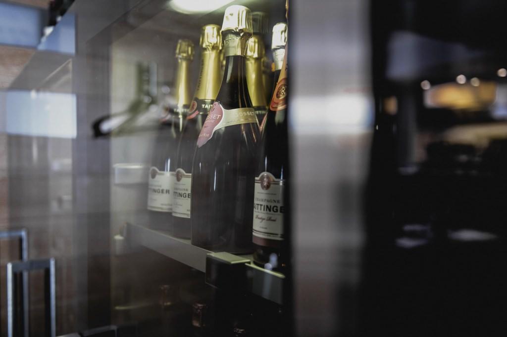 Erlesene Weinauswahl im Poisson