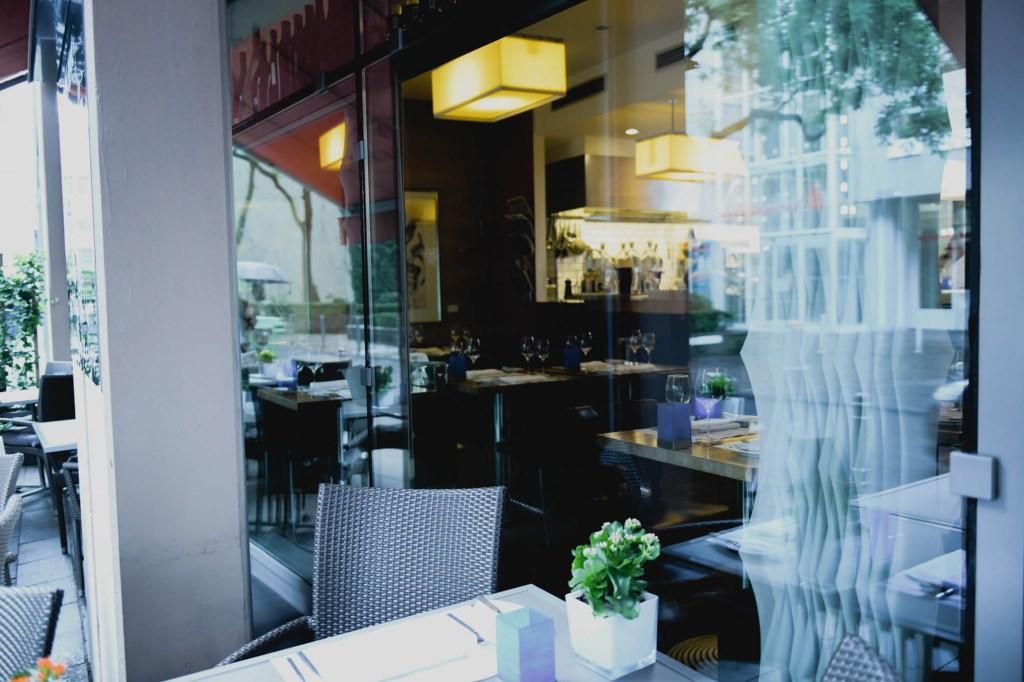 Das Poisson Restaurant von außen